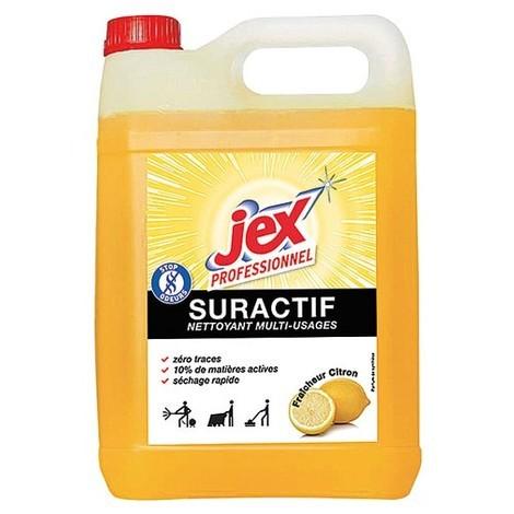 JEX - Nettoyant suractif citron 5 L