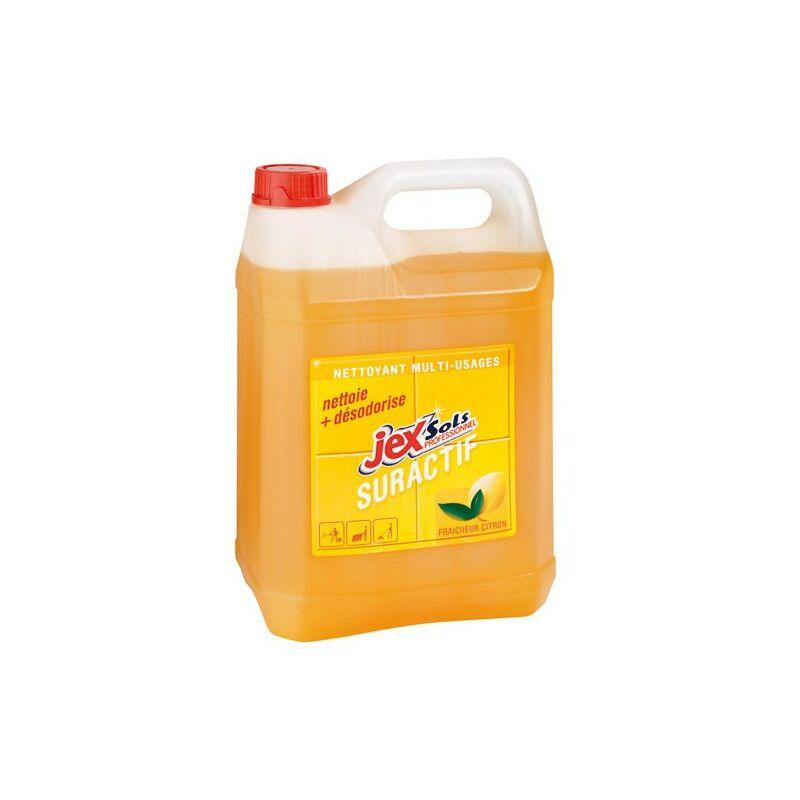 Nettoyant suractif citron 5 L - JEX