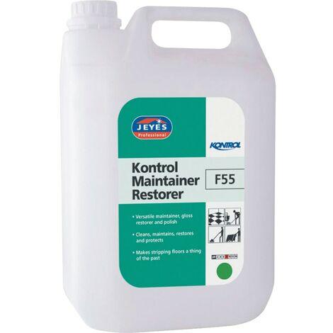 Jeyes F55 Kontrol Floor Maintainer & Restorer 5LTR