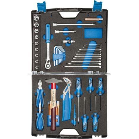 Jgo.herramientas Touring 47pza. en maleta Gedore