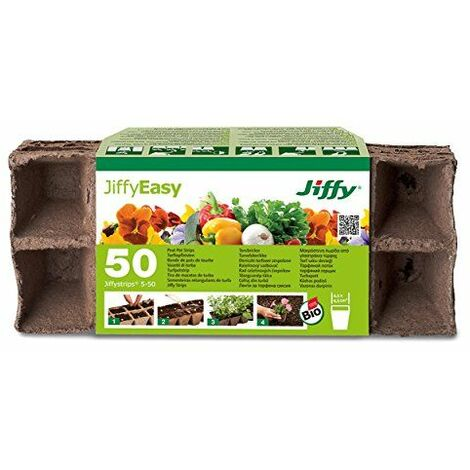 Jiffy 005401de tourbe Bandes Pots de culture