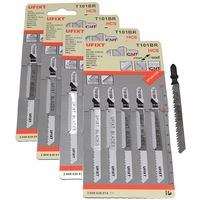 Jigsaw Blades T101BR For Cutting Laminates and Veneers HCS Fits Hitachi