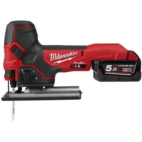Jigsaw MILWAUKEE M18 FBJS-502X - 2 batteries 5.0 Ah - 1 charger - 4933464800