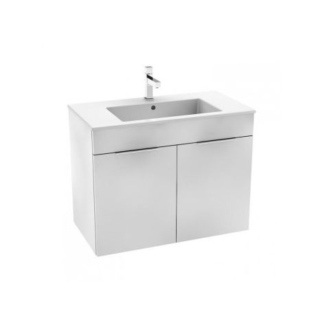 Jika - Cabinet with sink Cube 80 cm, White
