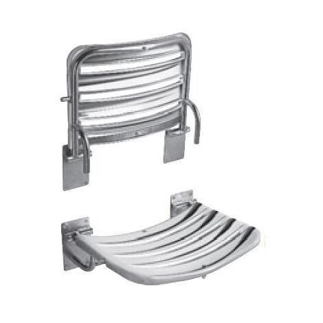 Jika Siège de douche, 490mm x 340mm, acier inoxydable (H3897180030001)