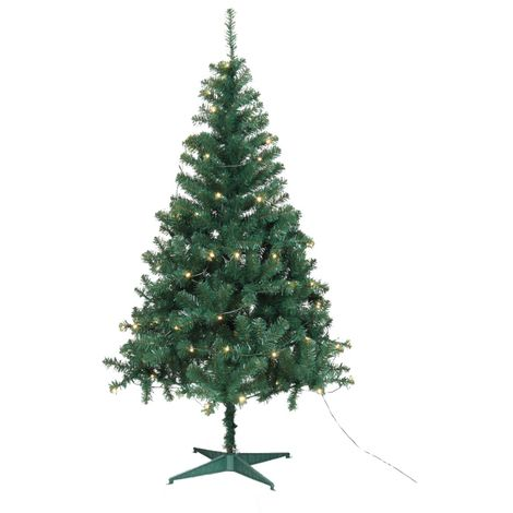 finest selection a959b c219e Jingles Pre-Lit Led Ben Nevis Green Christmas Artificial Tree - 6 and 7 Foot