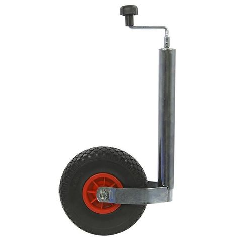 Jockey wheel 48mm plastic rim with PU tyre 260x85mm
