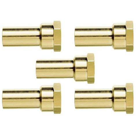 John Guest JG Speedfit 5x Female Stem Adaptor 15 x 1/2""