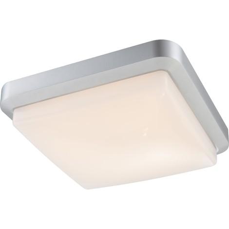 Lampade Da Esterno Plastica.John Plafoniera Lampada Da Esterno In Plastica Grigio Alluminio