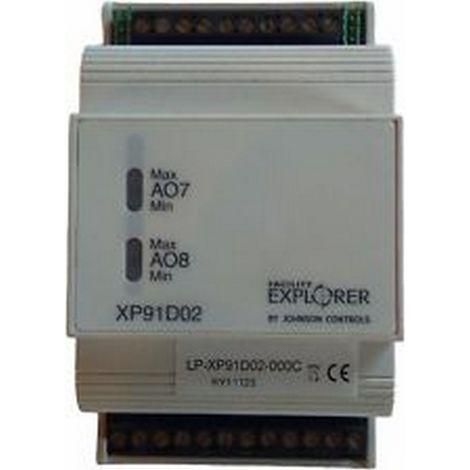 Johnson Controls LP-XP91D02-000C - Expansion module - 6 INs 2 Outs - Analogs