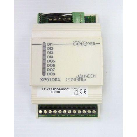Johnson Controls LP-XP91D04-000C - extension Module - 4 IN binary - 4 Out triacs
