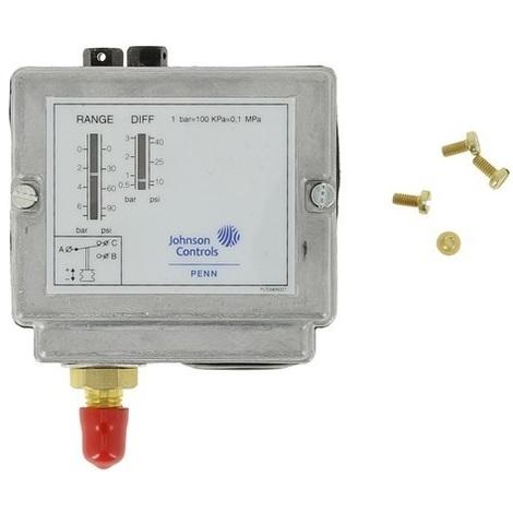 Johnson Controls P77AAA-9300 Pressostat plage 0,5 à 7 bars fileté 1/4'' SAE mâle