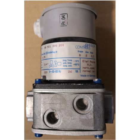 "Johnson Controls SB-501-SVS-201 valve Solenoid 3/4"" 220V 50/60Hz 26VA"