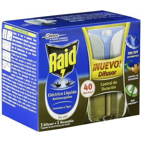 Johnson Raid eléctrico líquido advance, aparato insecticida anti mosquitos - 224 gr