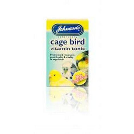Johnsons Cage Bird Vitamin Tonic Liquid (15ml) (May Vary)