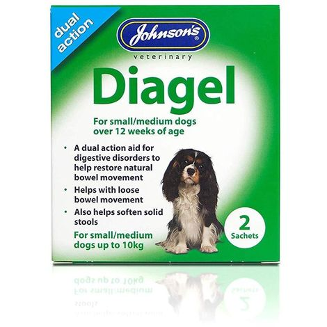 Johnsons Diagel Dog Sachets (Pack of 2) (One Size) (May Vary)
