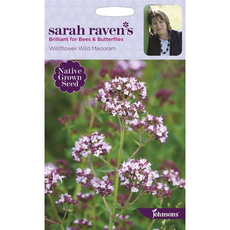 Sarah Raven/'s Flowers 500 Seeds Wildflower Wild Marjoram Johnsons