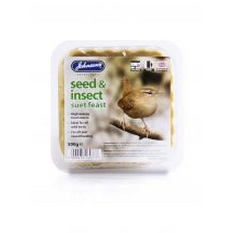 Johnsons Seed & Insect Suet Feast Bird Feed (One Size) (May Vary)