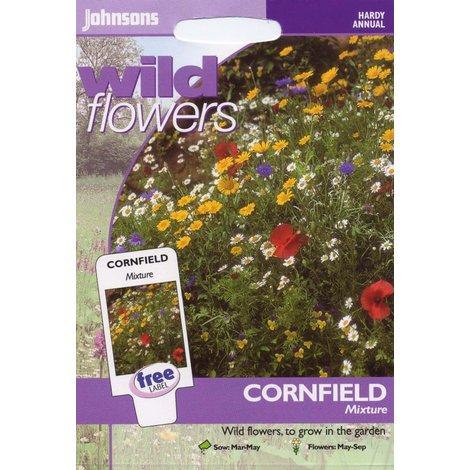 Johnsons Seeds - Pictorial Pack - Flower - Wildflower Cornfield Mixture
