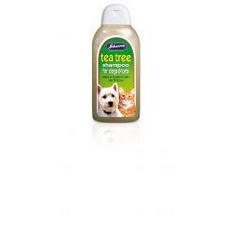 Johnsons Tea Tree Pet Liquid Shampoo