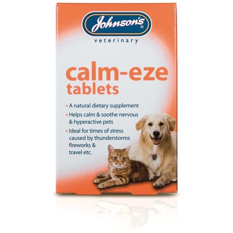 Johnsons Veterinary Calm-Eze Hunde/Katzen Tabletten (36 Tabletten) (kann variieren)