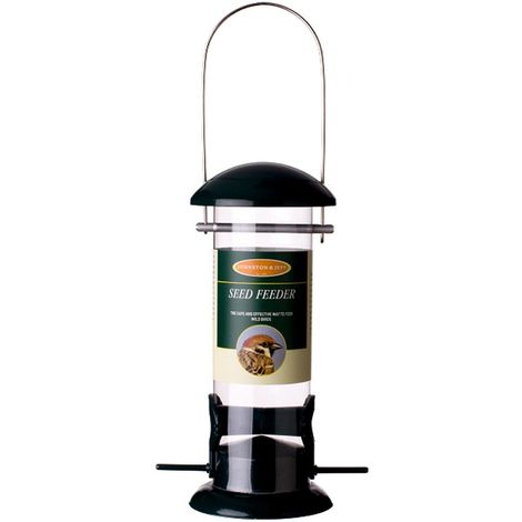 Johnston & Jeff Metal Seed Bird Feeder