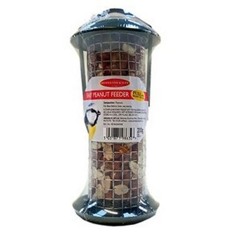 Johnston & Jeff Pre-Filled Easy Peanut Bird Feeder (One Size) (Black)
