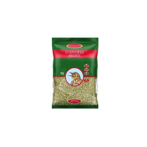 Johnston - Johnston & Jeff Sunflower Hearts - 4kg