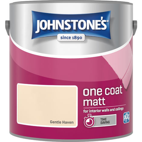 Johnstone's 2.5 Litre One Coat Matt - Gentle Haven