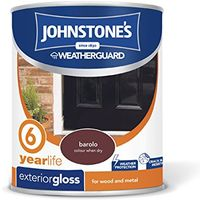 Johnstone's 303935 750ml Exterior Gloss Paint - Barolo