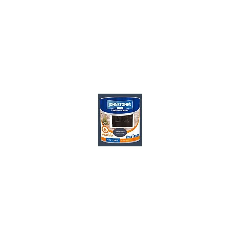 Image of 303945 2.5 Litre Exterior Gloss Paint - Admiral Blue - Johnstone's