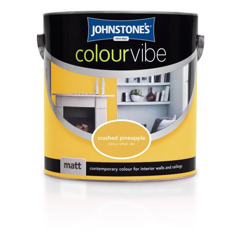 Johnstones No Ordinary Paint One Coat Water Based Matt Ceiling Paint Brilliant White 2.5 Litre