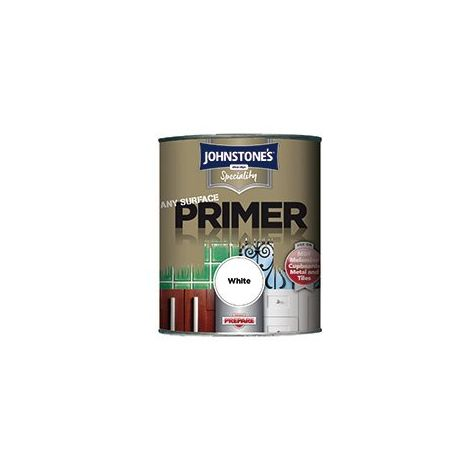 Johnstone's 750ml Speciality Any Surface Primer - White