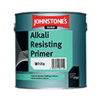 Johnstone's Alkali Resisting Primer White (choose size)