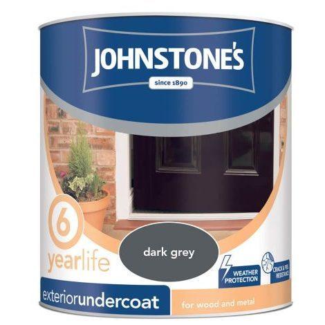 Johnstones All Purpose Undercoat Grey 750ml