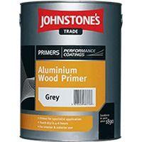 Johnstone's Aluminium Wood Primer Silver (select size)