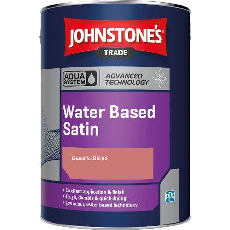 Johnstone's Aqua Water Based Satin - Beautiful Ballad - 1ltr