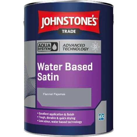 Johnstone's Aqua Water Based Satin - Flannel Pajamas - 2.5ltr