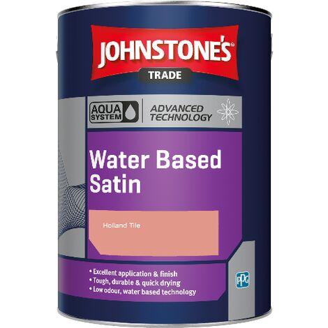 Johnstone's Aqua Water Based Satin - Holland Tile - 2.5ltr