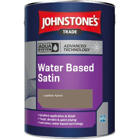 Johnstone's Aqua Water Based Satin - Leather Apron - 2.5ltr