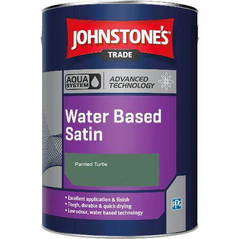 Johnstone's Aqua Water Based Satin - Painted Turtle - 2.5ltr