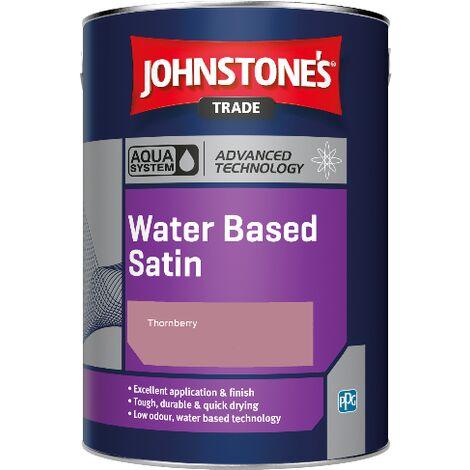 Johnstone's Aqua Water Based Satin - Thornberry - 1ltr