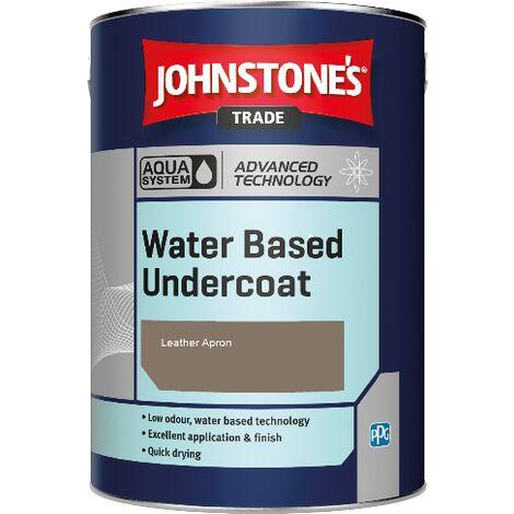 Johnstone's Aqua Water Based Undercoat - Leather Apron - 5ltr