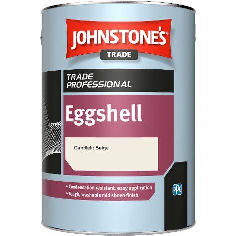Johnstone's Eggshell - Candlelit Beige - 2.5ltr