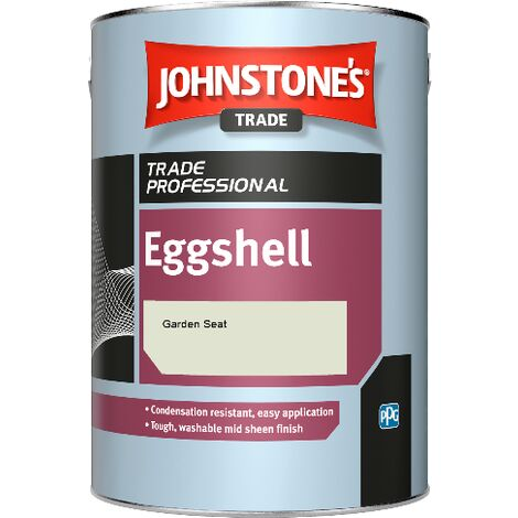 Johnstone's Eggshell - Garden Seat - 2.5ltr