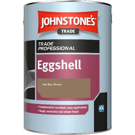 Johnstone's Eggshell - Hat Box Brown - 2.5ltr