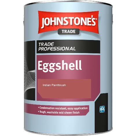 Johnstone's Eggshell - Indian Paintbrush - 2.5ltr