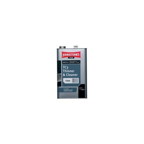 Johnstone's Essentials TC3 Thinner & Cleaner Clear 5 Litres