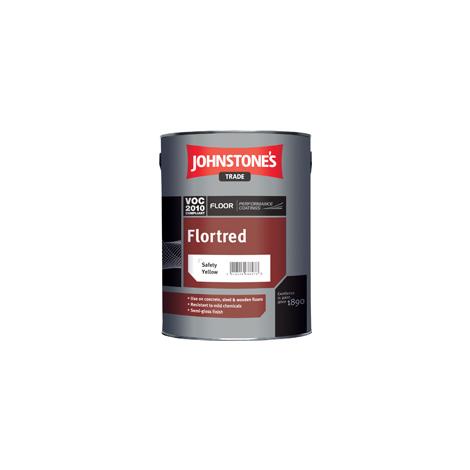 Johnstone\'s Flortred Floor Paint 5L (choose colour)