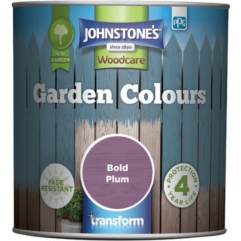 Johnstone's Garden Colours Bold Plum 1l